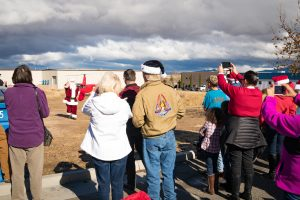 Santa Claus visits Yavapai Exceptional Industries